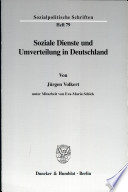 Soziale Dienste und Umverteilung in Deutschland