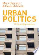 Urban Politics book