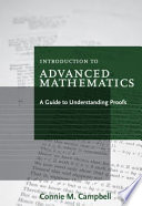 Introduction to Advanced Mathematics  A Guide to Understanding Proofs
