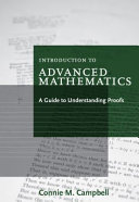 Introduction to Advanced Mathematics: A Guide to Understanding Proofs