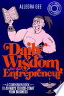 Daily Wisdom for the Entrepreneur