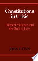 Constitutions in Crisis