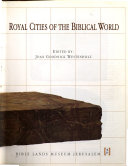 Royal Cities of the Biblical World