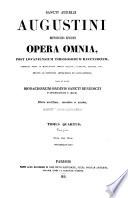 Sancti Aurelii Augustini hipponensis episcopi Opera omnia