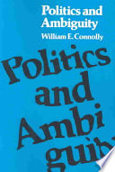 Politics And Ambiguity : the element of ambiguity in...