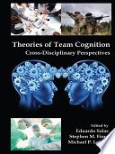 Theories Of Team Cognition : team researchers to explore. team...