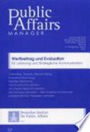 Wertbeitrag und Evaluation für Lobbying und Strategische Kommunikation