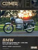 BMW R50 5 Through R100GS PD 1970 1996