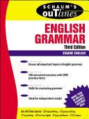 Schaum s Outline of English Grammar