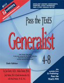 Pass the Texes Generalist 4 8