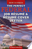 How to Write the Perfect Federal Job R  sum     R  sum   Cover Letter