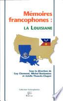 Mémoires francophones