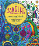 Tangled Treasures Coloring Book : jane monk! coloring is a peaceful and...