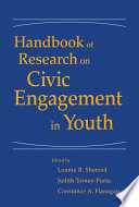 Handbook Of Research On Civic Engagement In Youth