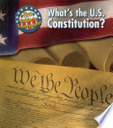 What s the U S  Constitution