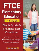 FTCE Elementary Education K 6 Book