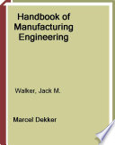 Handbook of Manufacturing Engineering  Second Edition   4 Volume Set