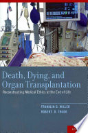 Death Dying And Organ Transplantation