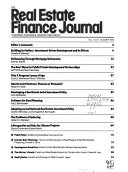The Real Estate Finance Journal