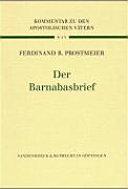 Der Barnabasbrief