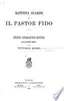 Battista Guarini ed Il pastor fido