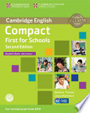Compact First for Schools Student s Book with Answers with CD ROM