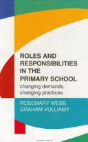 Roles and responsibilities in the primary school