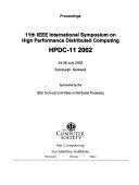 11th International Symposium On High Performance Distributed Computing
