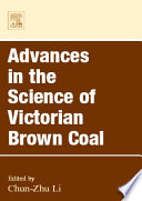 Advances In The Science Of Victorian Brown Coal book