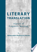 Literary Translation: Aspects of Pragmatic Meaning