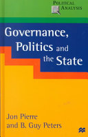 Governance, Politics, and the State