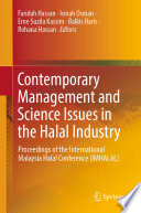 Contemporary Management And Science Issues In The Halal Industry