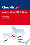 Checkliste Akupunktur für Kleintiere
