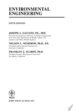 Environmental Engineering - ISBN:9780471418139