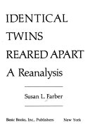 Identical Twins Reared Apart