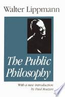 Essays in the Public Philosophy