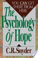 Psychology Of Hope book