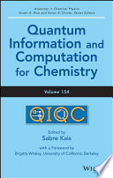 Advances in Chemical Physics  Volume 154