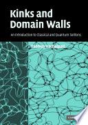 Kinks and Domain Walls