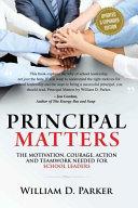 Principal Matters Book PDF