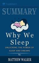 Summary Why We Sleep