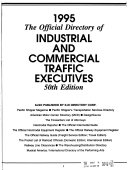 The Official Directory Of Industrial And Commercial Traffic Executives book