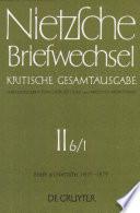 Briefe an Friedrich Nietzsche