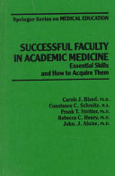 Successful Faculty In Academic Medicine