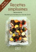 Le Petit Livre de   Recettes Simplissimes