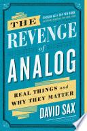 The Revenge of Analog Book PDF