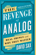 download ebook the revenge of analog pdf epub