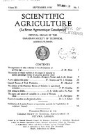 Canadian Journal of Agricultural Science