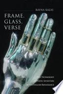 Frame Glass Verse book