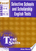Selective Schools and Scholarship English Test